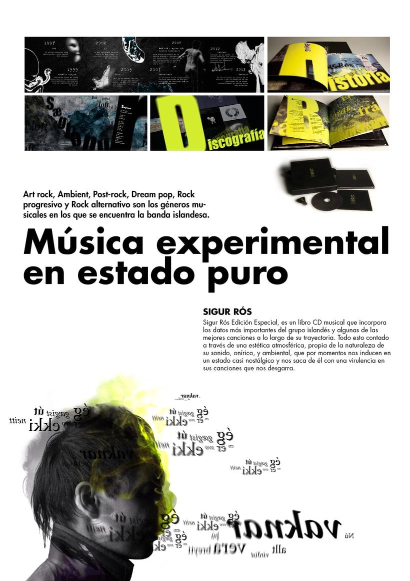 Nuevo Libro disco Musical Sigur Rós -1