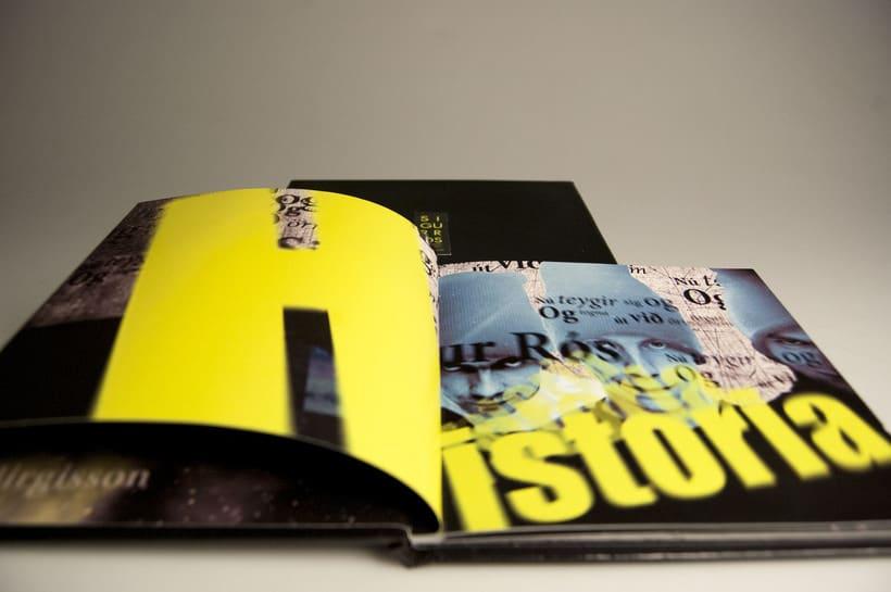 Nuevo Libro disco Musical Sigur Rós 1