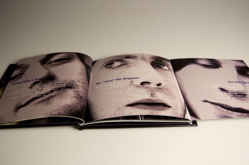 Nuevo Libro disco Musical Sigur Rós 4