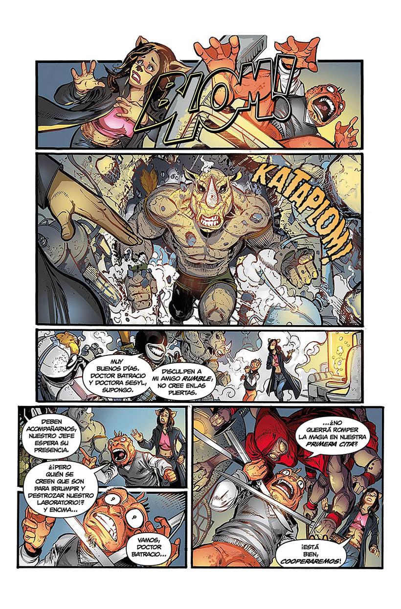 Maquetación de cómic - profesional y colaboraciones. 0