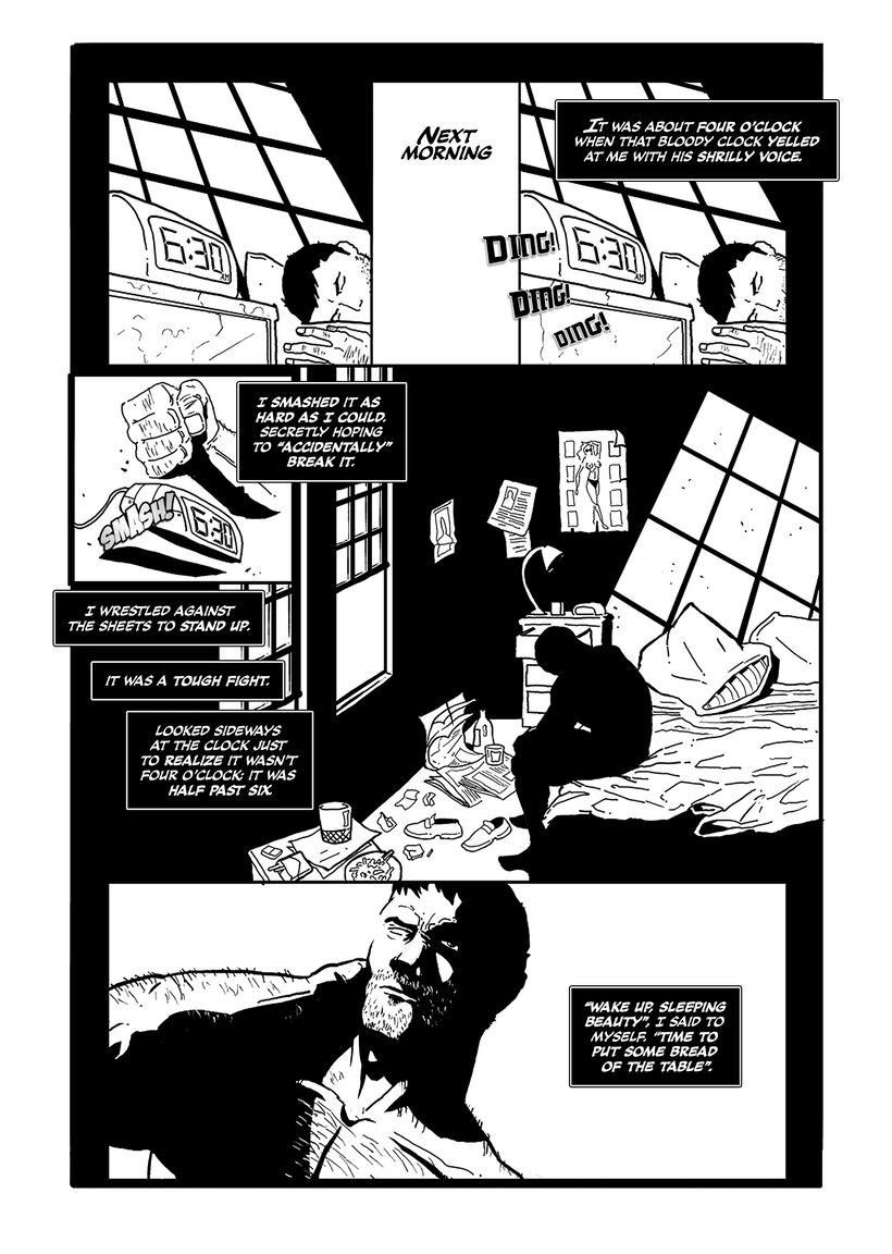 Maquetación de cómic - profesional y colaboraciones. 3