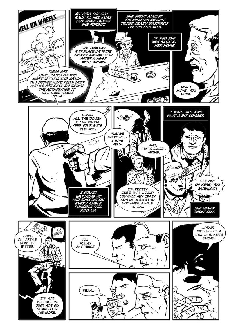 Maquetación de cómic - profesional y colaboraciones. 4