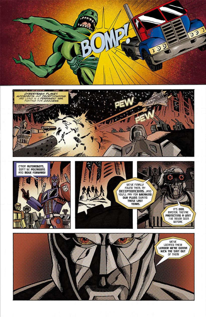Maquetación de cómic - profesional y colaboraciones. 6