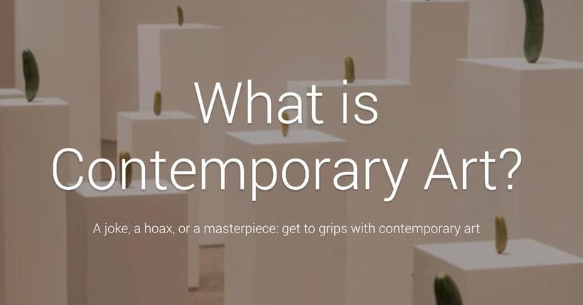 Google, ¿qué es el Arte Contemporáneo? 1