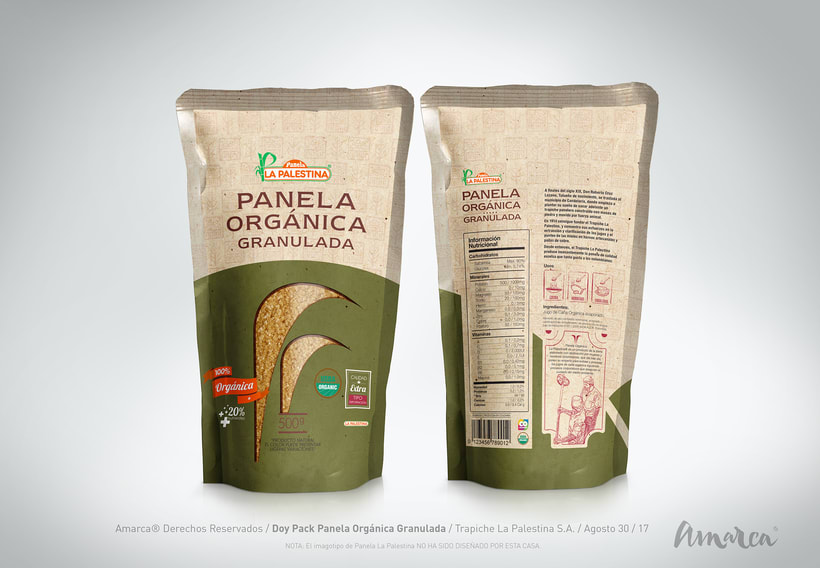 Doy Pack Panela Granulada Orgánica  -1