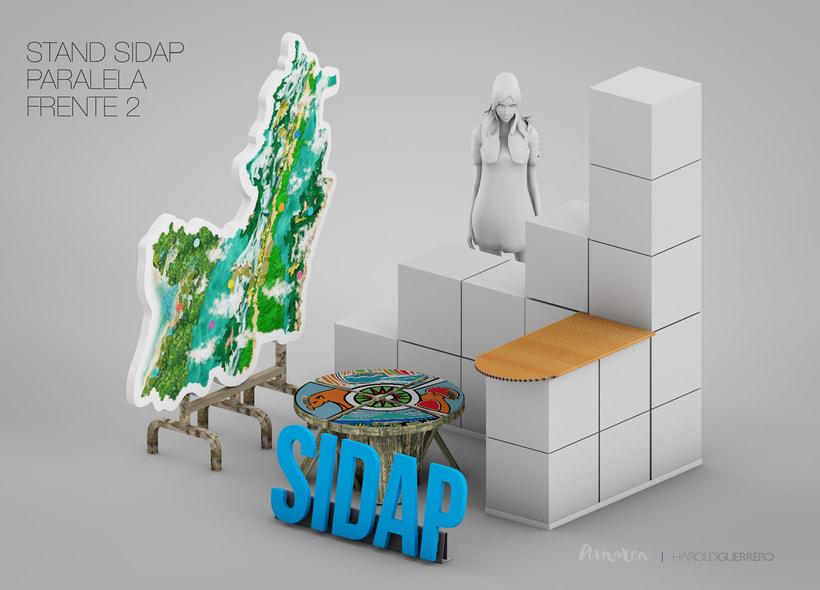 Stand SIDAP 2m X 2m -1