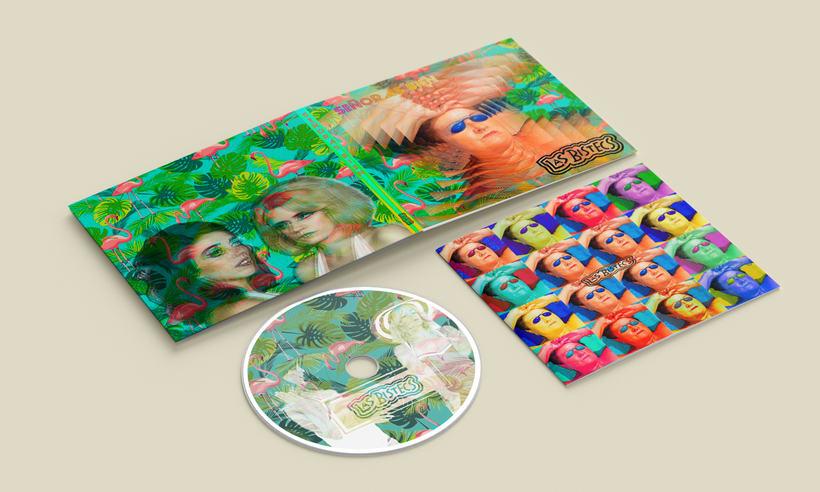 Portada y libreto de CD -1
