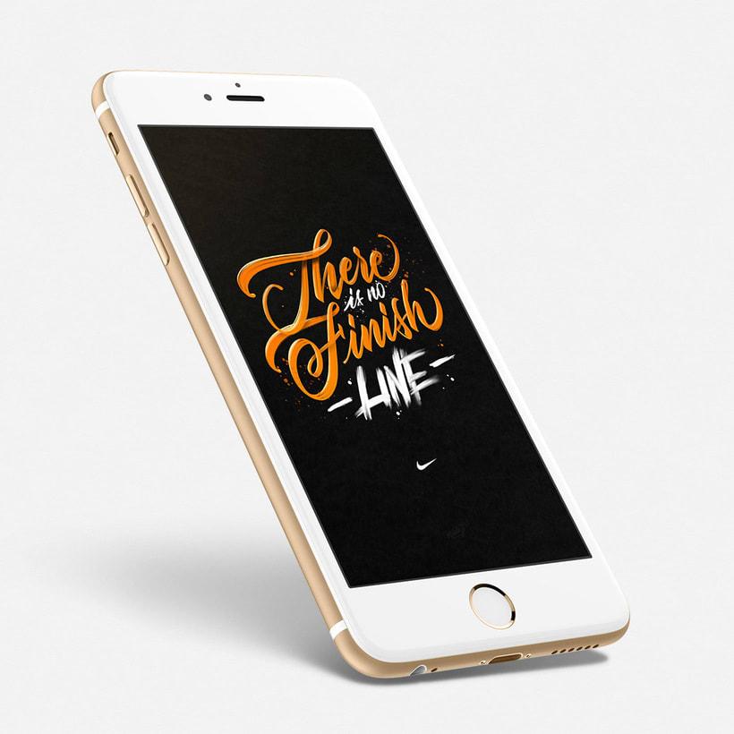 Fondo para celulares con lettering 8
