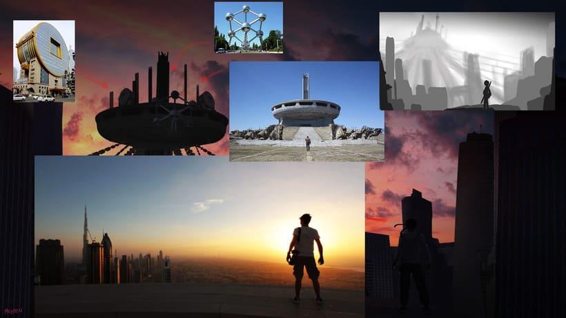 Mi Proyecto del curso: Iniciación al concept art: diseñando el futuro 7