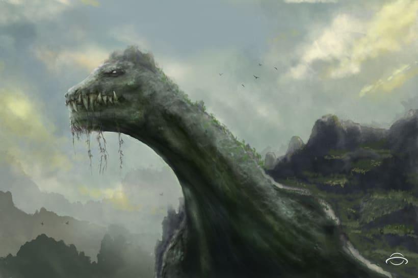Concept art - La gran isla tortuga -1