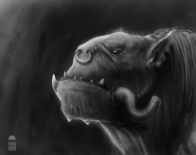 Concept art - Orc -1