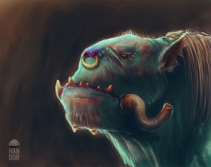 Concept art - Orc 0