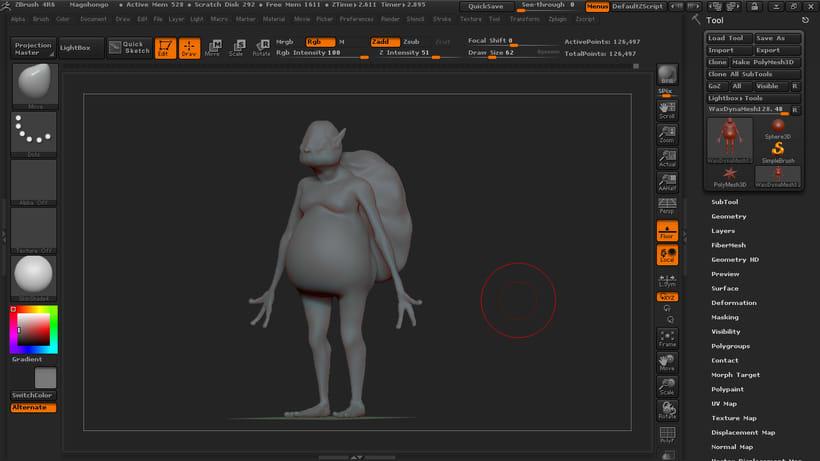 Concept art - 3D Gory 1