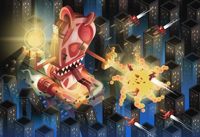 Mi Proyecto del curso: kaiju/Chop Attack!! 0