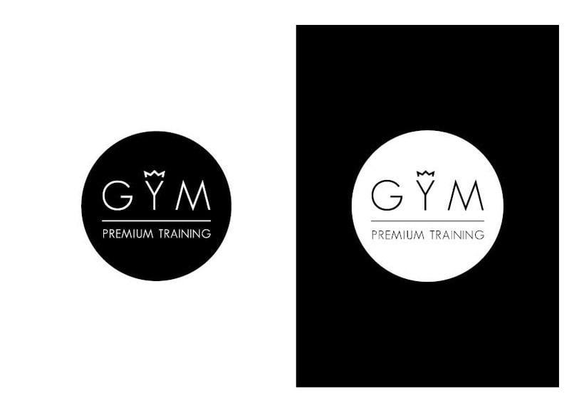 Diseño de Logotipo GYM Premium Training 3