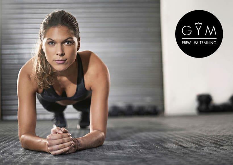 Diseño de Logotipo GYM Premium Training 5