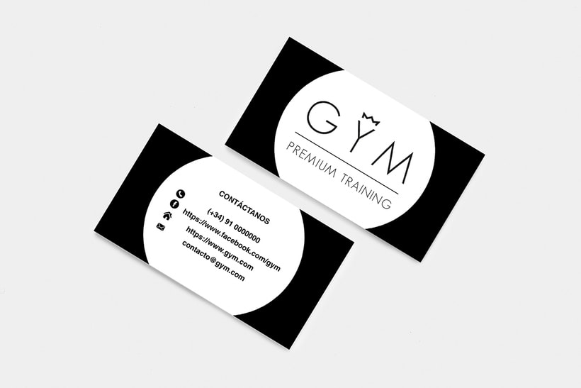 Identidad Corporativa GYM Premium Training 1