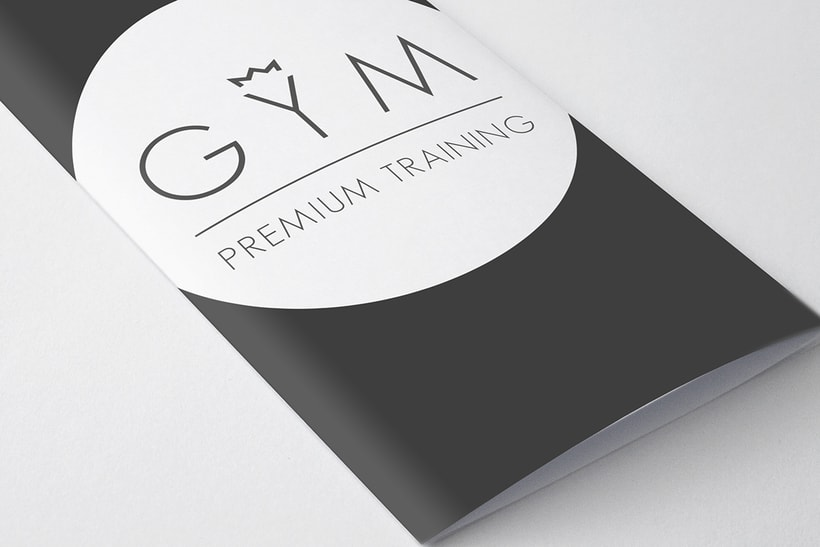 Identidad Corporativa GYM Premium Training 2