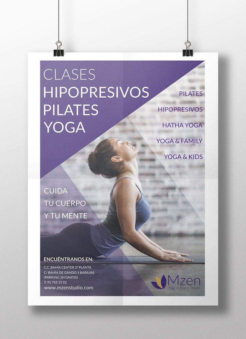 Imagen Corporativa Mzen Yoga & Pilates Studio 5
