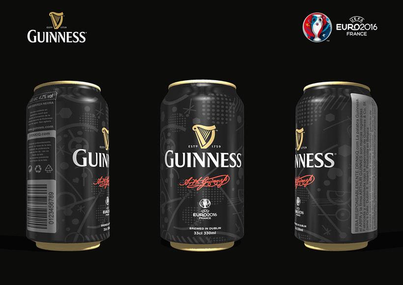 Diseño de Packaging Cerveza Guinness -1