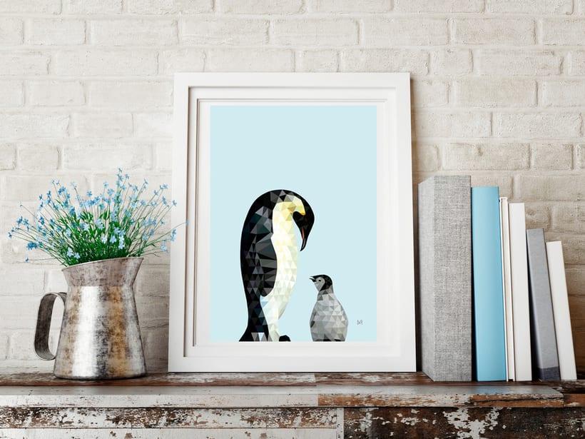 Ilustración Penguins -1