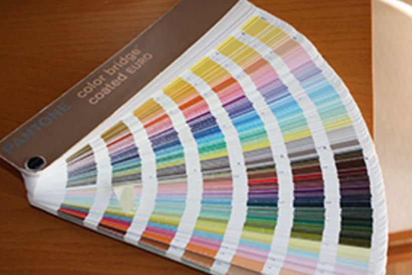 Vendo guía Pantone Color Bridge Coated Euro 1