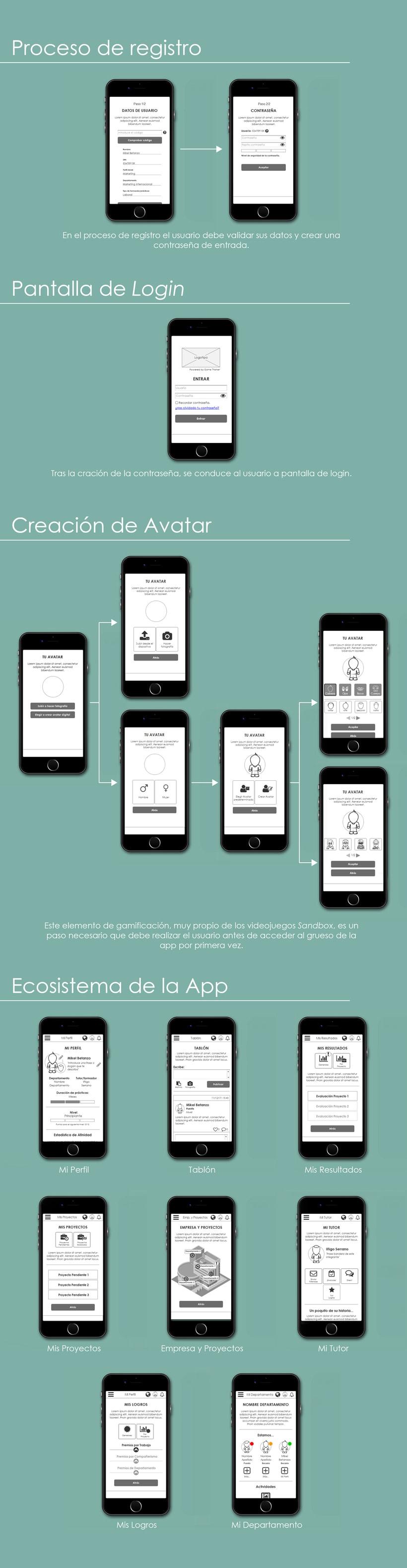 App gamificada para procesos de Recursos Humanos (UX/UI) 3