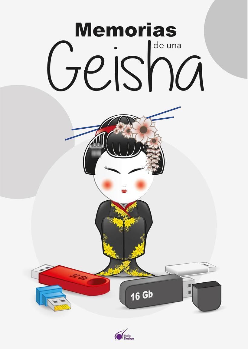 """Poster paródico de """"Memorias de una Geisha"""" 0"""