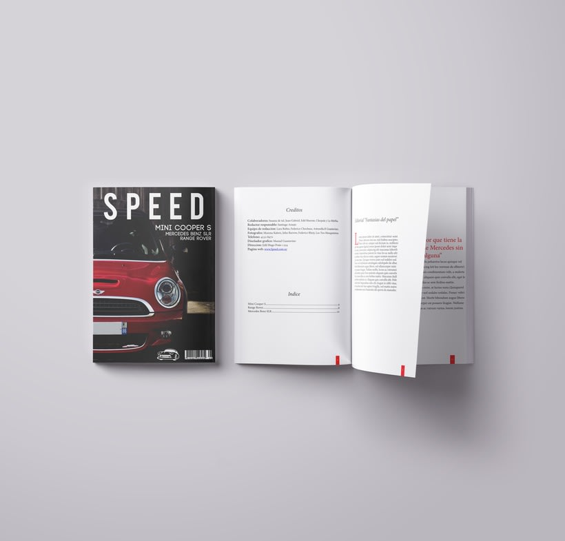 SPEED MAGAZINE 1