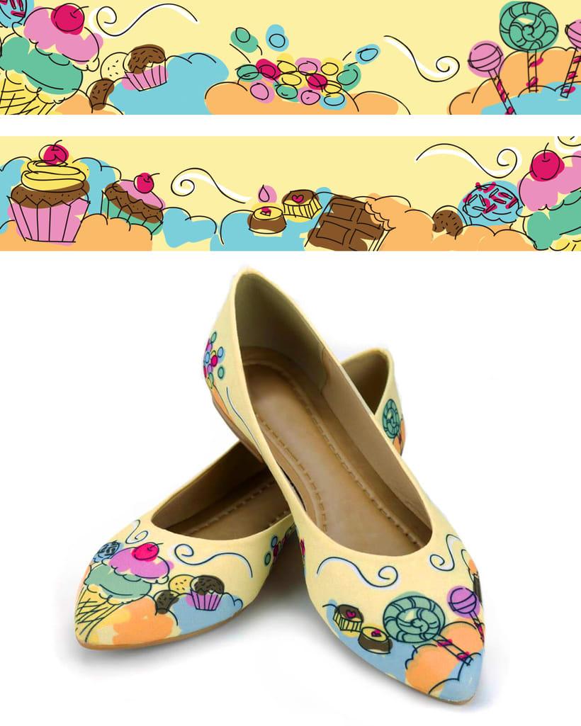 Flat shoes print 2