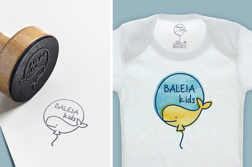 Logo Baleia Kids 1
