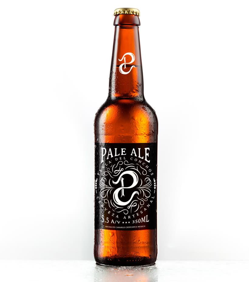 Mi Proyecto del curso: Branding  para una Cerveza Artesanal (Perla del Conchos) -1