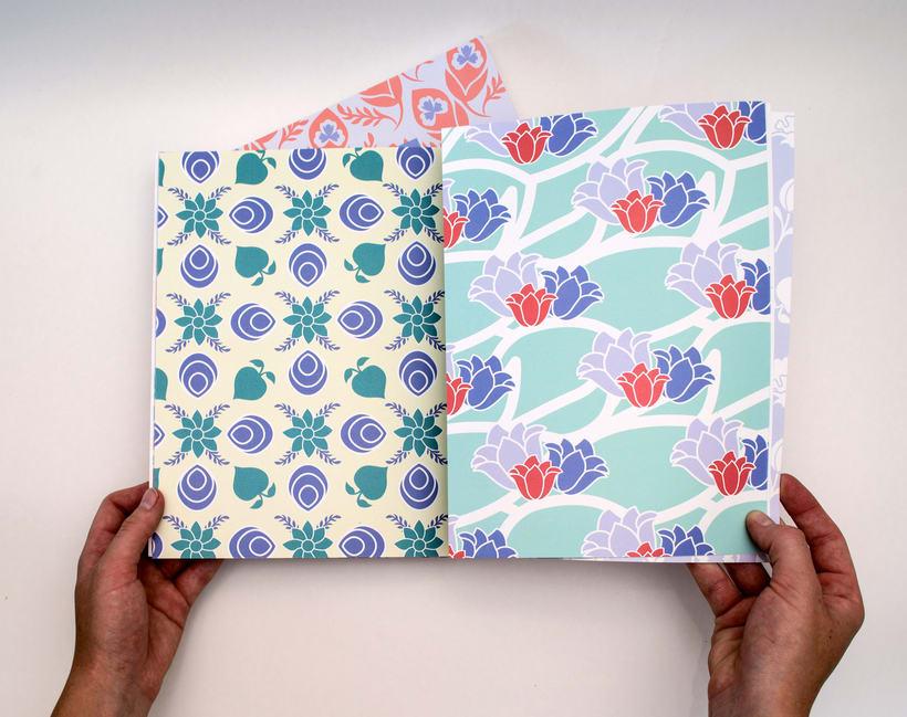 Libro sobre el diseño de estampados 17