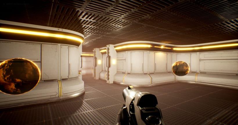 Modular SciFi Environment - Unreal Engine 4 2