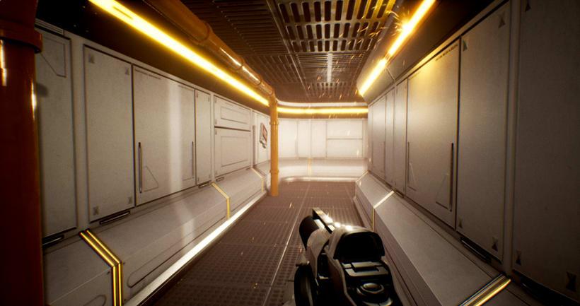 Modular SciFi Environment - Unreal Engine 4 4