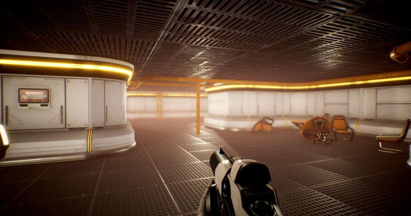 Modular SciFi Environment - Unreal Engine 4 6
