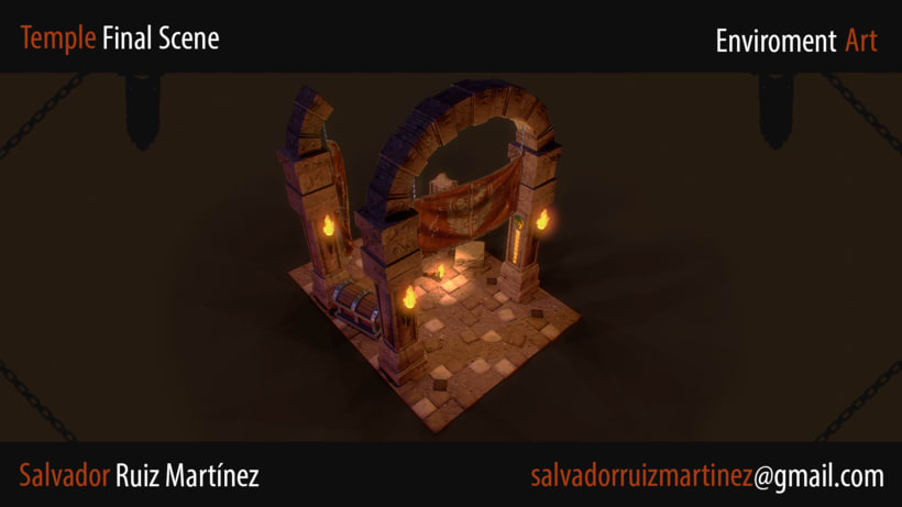 Modular Temple Scene 0