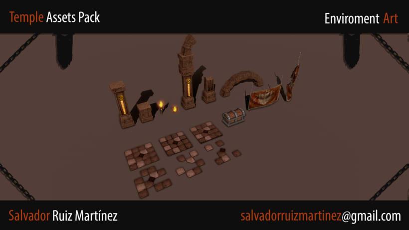 Modular Temple Scene 1