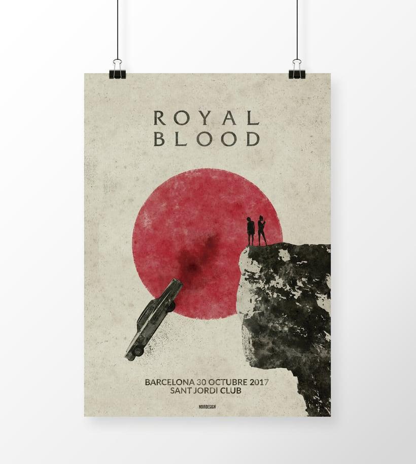 Royal Blood Barcelona 30/10/17 -1