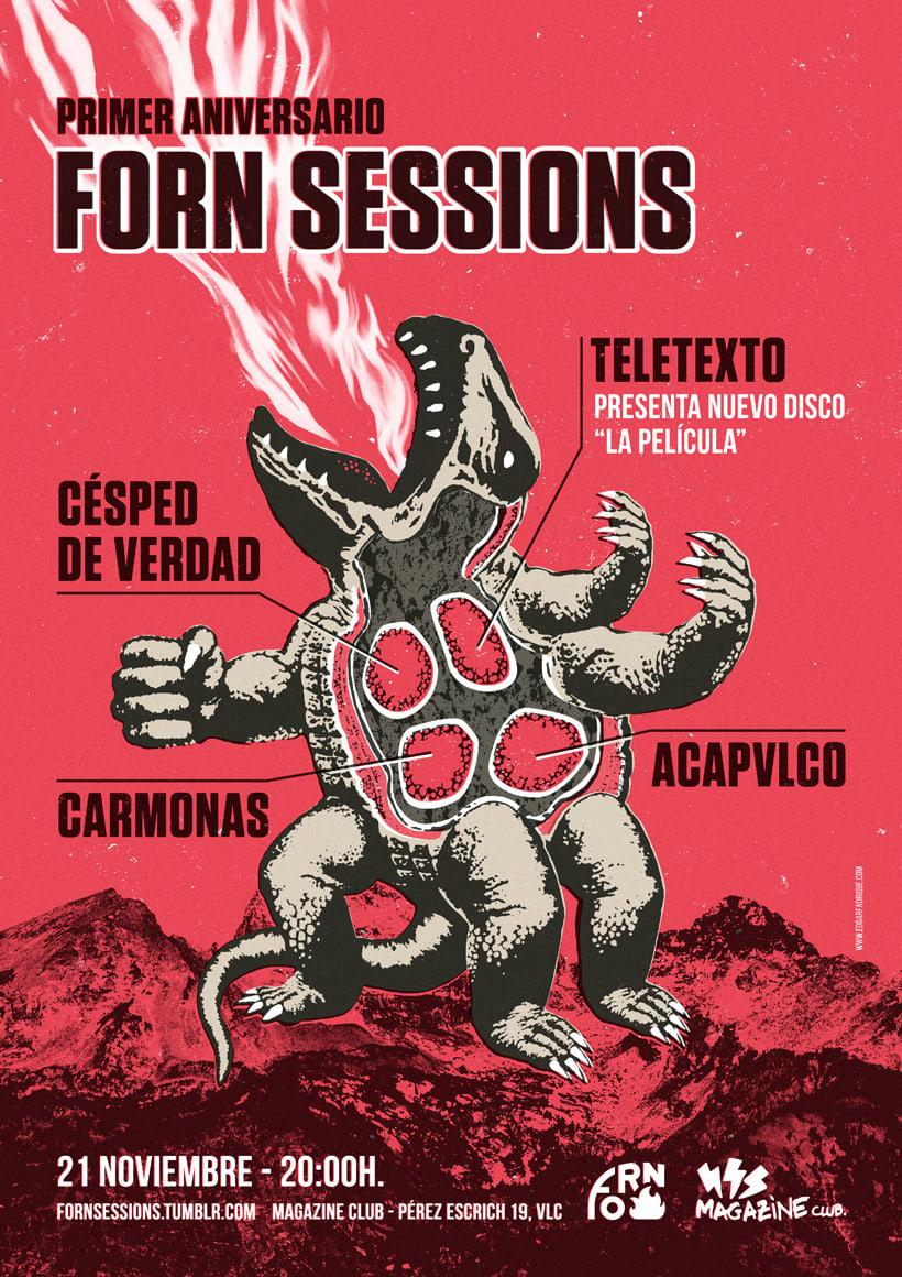 Primer aniversario Forn Sessions 0