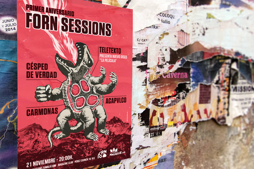 Primer aniversario Forn Sessions 2