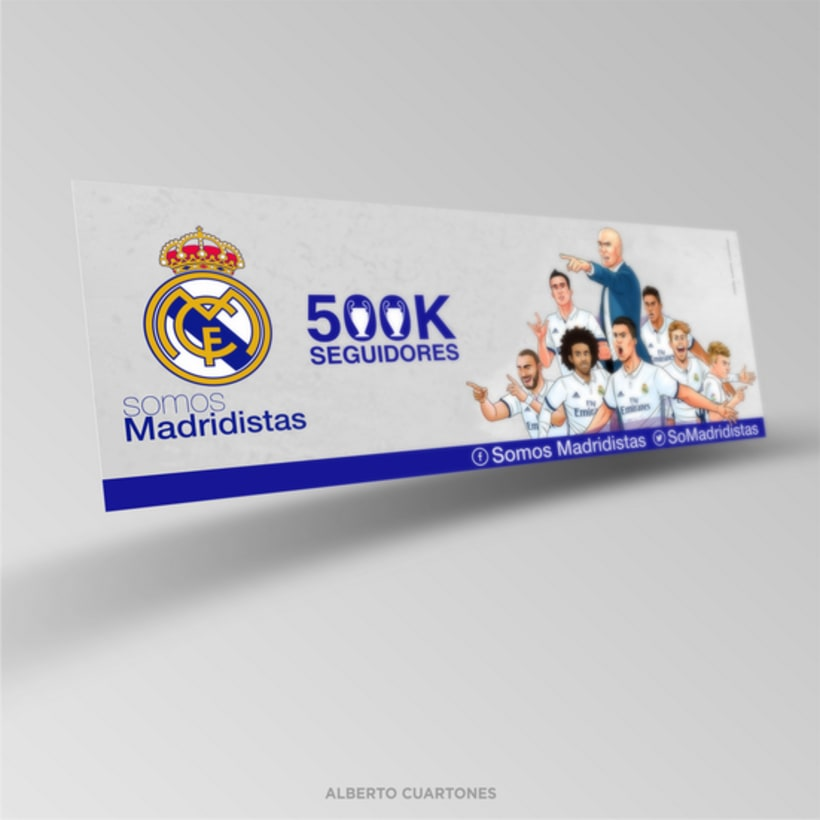 """Portadas Facebook """"Somos Madridistas"""" 1"""