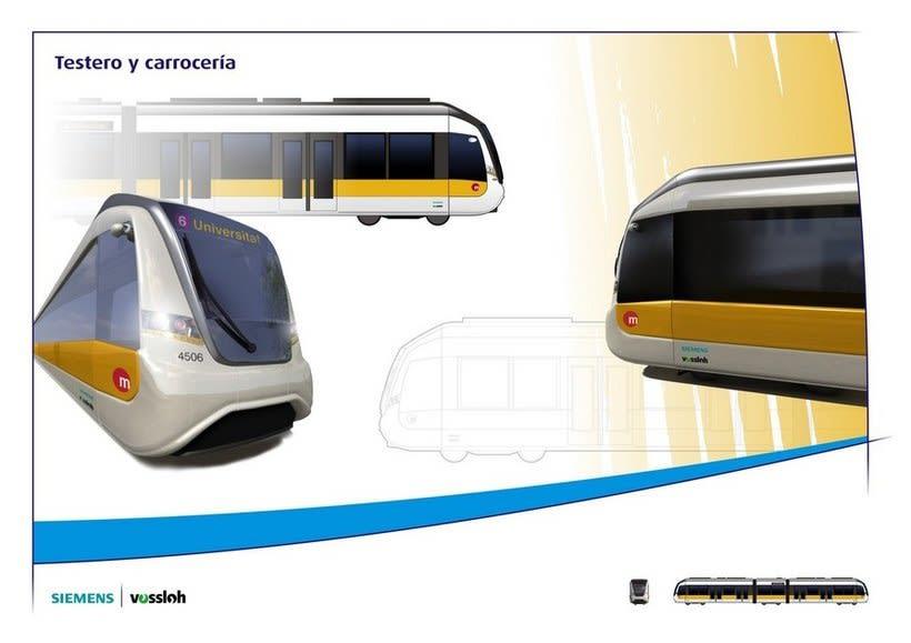 Rediseño tranvías de Valencia 0