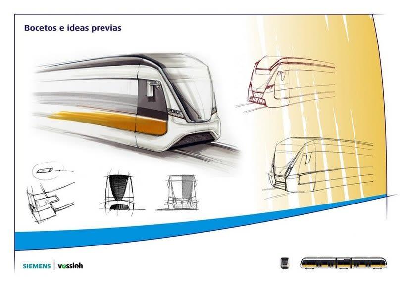 Rediseño tranvías de Valencia 2
