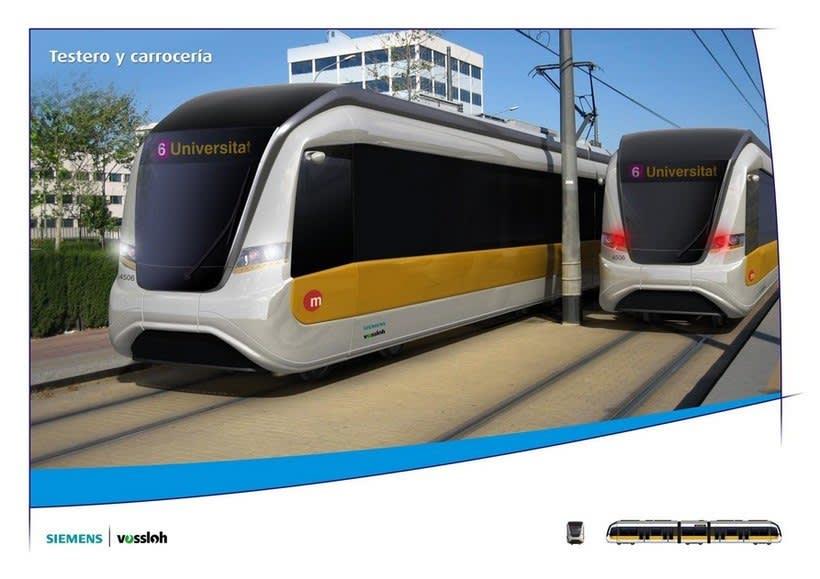 Rediseño tranvías de Valencia 4