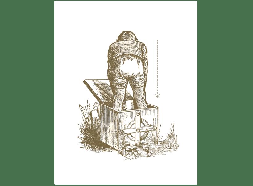 Caída del búfalo sin nombre - Collage 1
