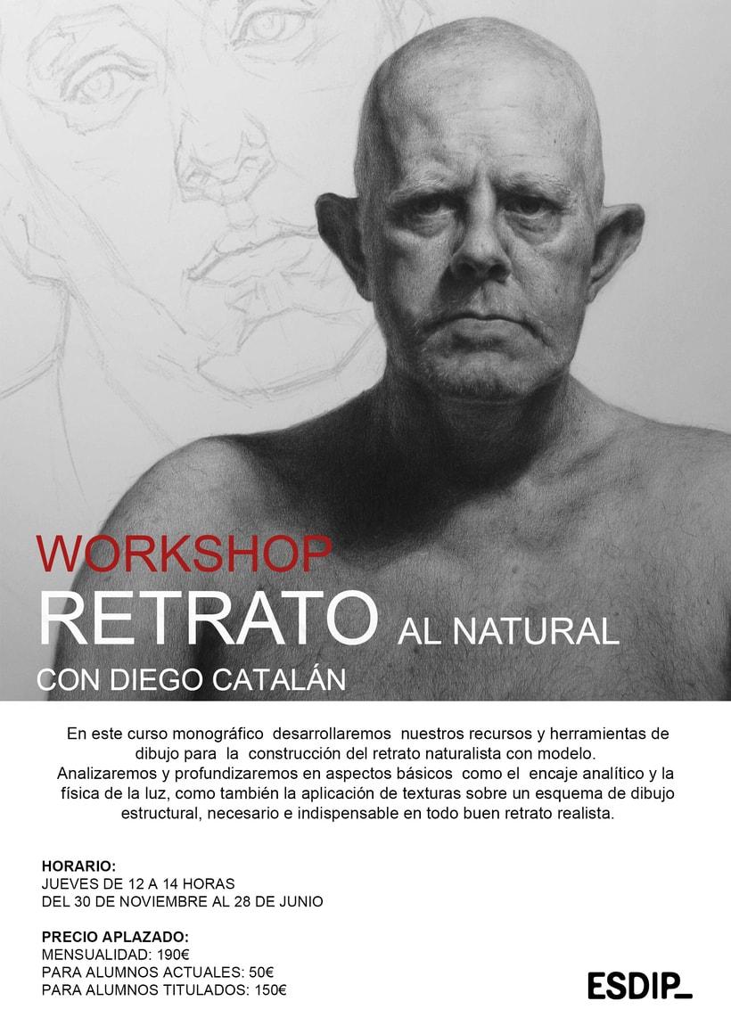 Workshop de Retrato al Natural 1