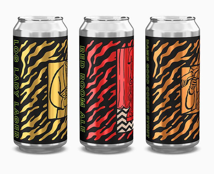Twin Peaks tiene su propia cerveza con diseño especial 3