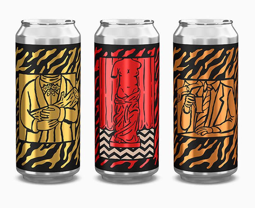 Twin Peaks tiene su propia cerveza con diseño especial 1