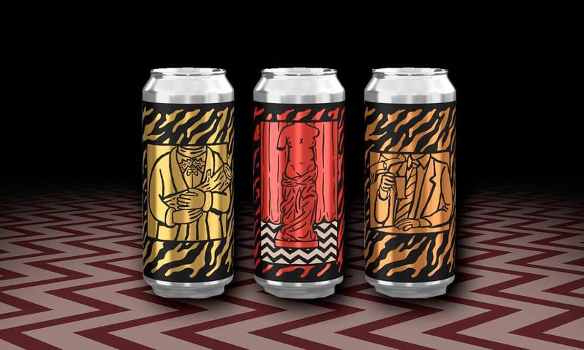 Twin Peaks tiene su propia cerveza con diseño especial 8